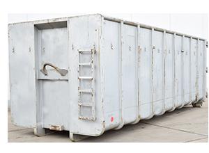 Abrollcontainer ohne Deckel