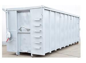 Abrollcontainer mit Deckel